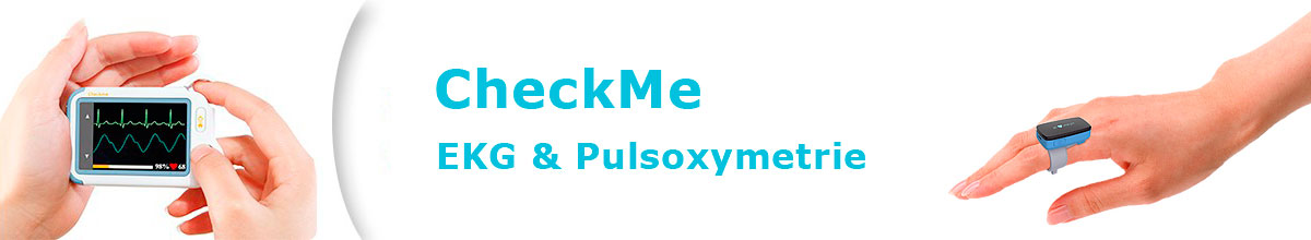 CheckMe Eventrecorder und Pulsoxymetrie